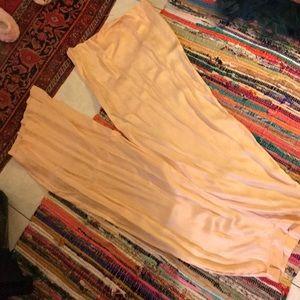 Pants - Vintage 1940s silk pajama bottoms